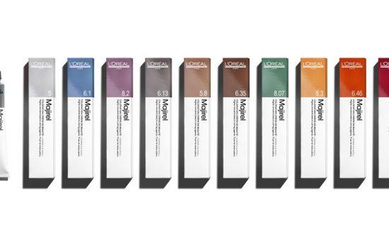 """לוריאל פרופסיונל סדרת צבעי שיער מג'רל מחומרים ממוחזרים   צילום: יח""""צ חו""""ל"""