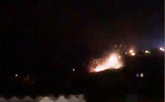 רקטיה התפוצצה בשטח לבנון