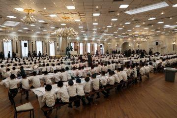 גלריה מרגשת: 500 ילדים ב'מסיבת חומש'