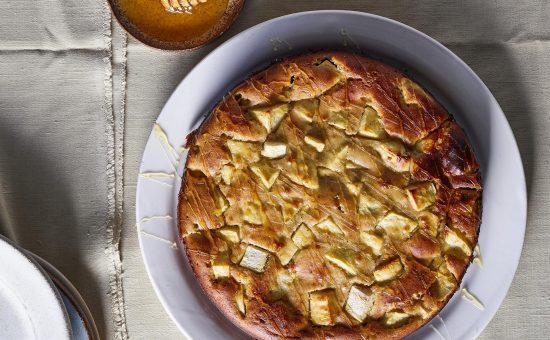 עוגת תפוח בדבש- צילום: דן פרץ