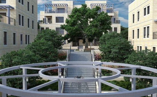 פרויקט מוזיאון רזידנס בירושלים המשווק על ידי חברת דרא קרדיט הדמייה אחים ישראל