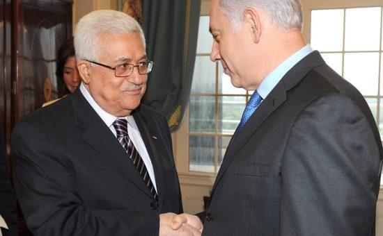 ראש הממשלה בנימין נתניהו ונשיא הרשות הפלסטינית אבו מאזן צילום משה מילנר לעמ (3)