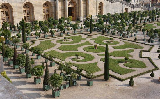 רחבת הכניסה לארמון וורסאי