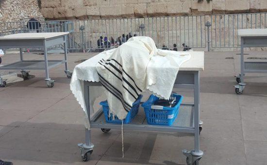 עזרת ישראל בכותל הדרומי
