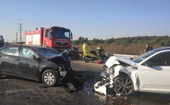 אילוסטרציה: תאונה עלולה להיגרם מחיפזון בכביש
