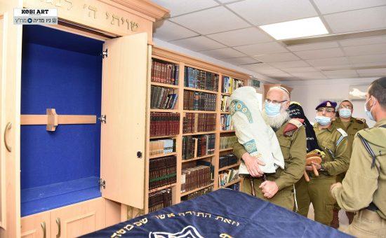 """בית הכנסת החדש בבא""""ח גבעתי"""