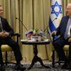 ראש הממשלה הרוסי נפגש עם ריבלין והרצוג
