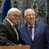 """""""האופציה היחידה"""" • נשיא גרמניה רוצה את פתרון 'שתי המדינות'"""