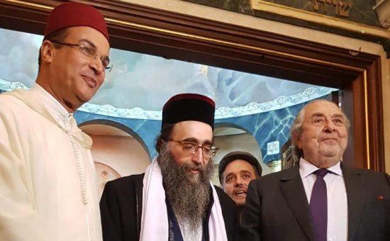 ראש בתי הדין של מרוקו הרב פינטו פינטו במרוקו