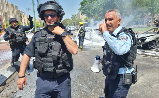 רקטות באשקלון, צילום: משטרת ישראל