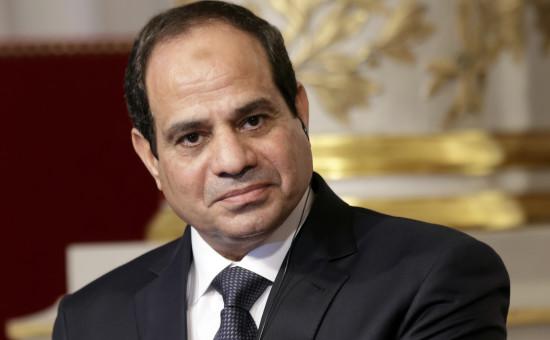 נשיא מצריים א-סיסי